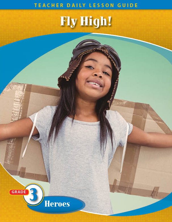Pathways2.0 Grade 3 Heroes Unit: Fly High! The Story of Bessie Coleman Daily Lesson Guide + 5 Year License