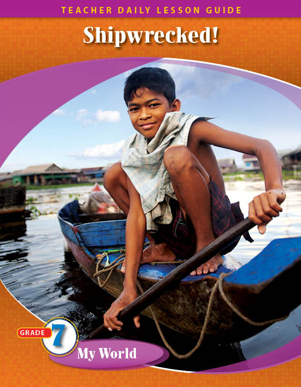 Pathways2.0 Grade 7 My World Unit: Shipwrecked: The True Adventures of a Japanese Boy Daily Lesson Guide + 5 Year License