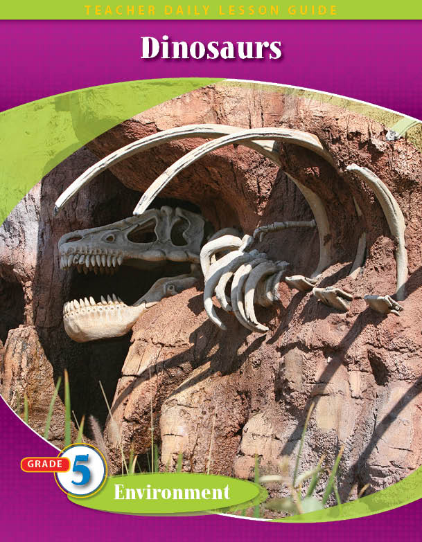 Pathways 2.0: Grade 5 Environment Unit: Dinosaurs Daily Lesson Guide + Teacher Resource 6 Year License