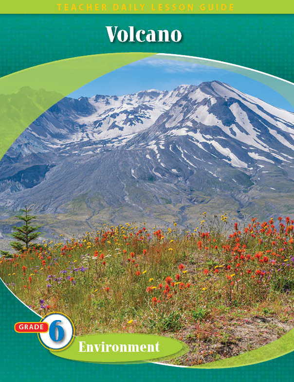 Pathways2.0 Grade 6 Environment Unit: Volcano: The Eruption & Healing of Mt. St. Helens Daily Lesson Guide + 5 Year License