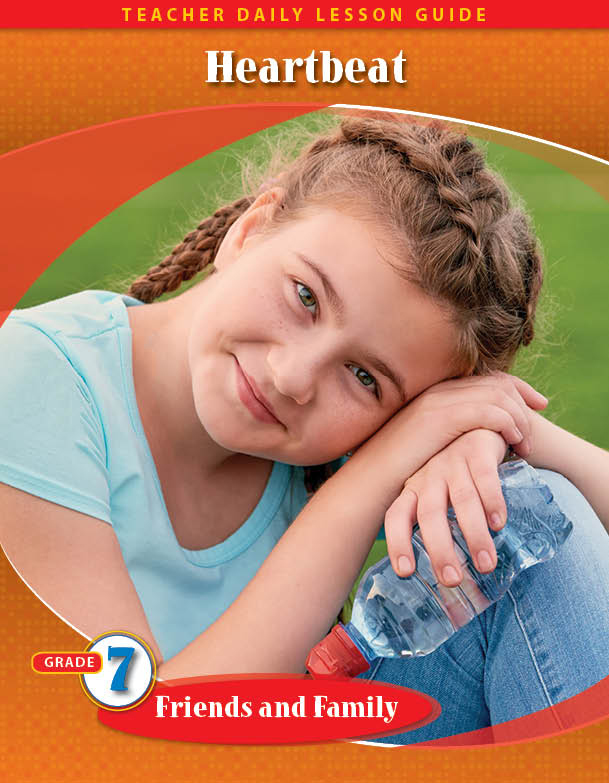 Pathways2.0 Grade 7 Friends and Family Unit: Heartbeat Daily Lesson Guide + 5 Year License