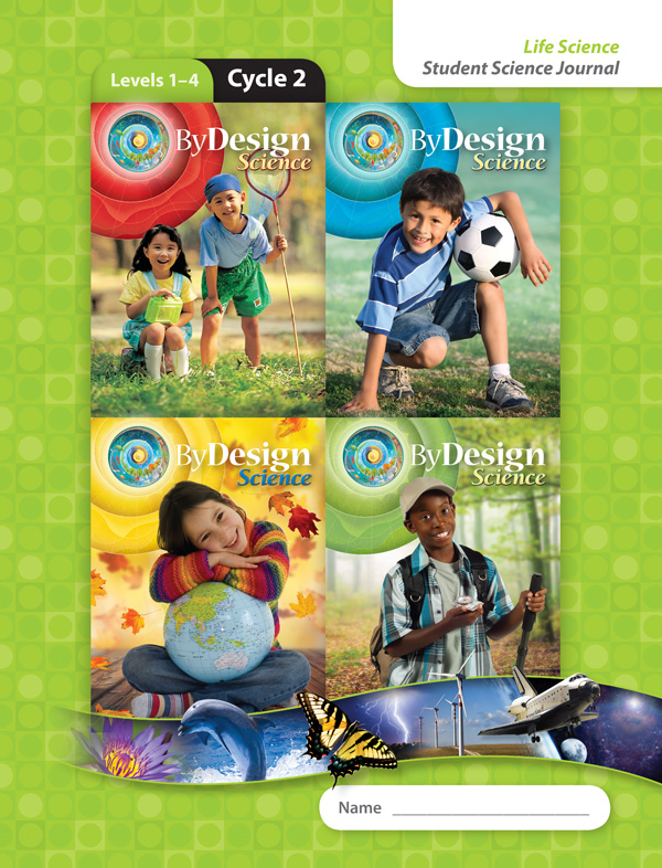 By Design Levels 1-4, Cycle 2 Student Science Journal 1 Year License