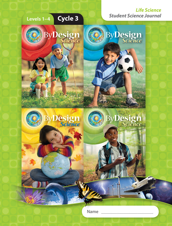By Design Levels 1-4, Cycle 3 Student Science Journal 1 Year License