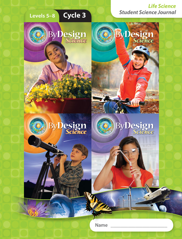 By Design Levels 5-8, Cycle 3 Student Science Journal 1 Year License