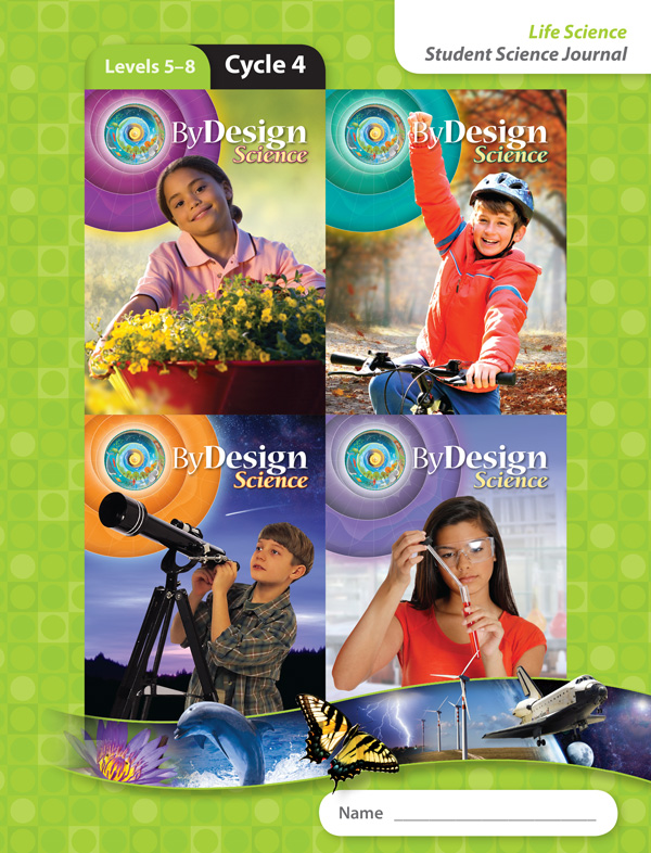 By Design Levels 5-8, Cycle 4 Student Science Journal 1 Year License