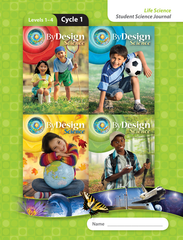 By Design Levels 1-4, Cycles 1-4 Student Science Journal 1 Year License