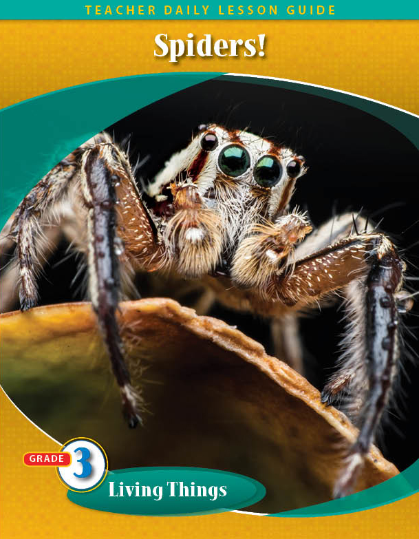 Pathways2.0 Grade 3 Living Things Unit: Grow With Me Spider Daily Lesson Guide + 5 Yr License