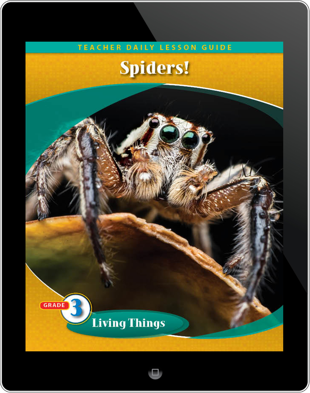 Pathways2.0 Grade 3 Living Things Unit: Grow With Me Spider Daily Lesson Guide 5 Yr License