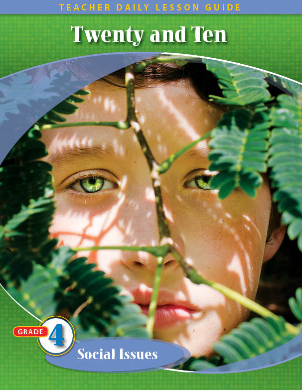 Pathways2.0 Grade 4 Social Issues Unit: Twenty & Ten Daily Lesson Guide + 5 Year License
