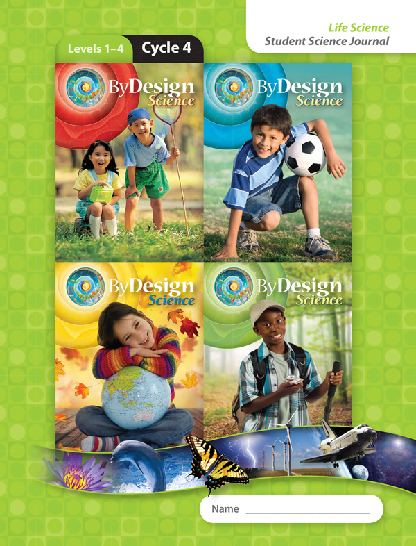 By Design Levels 1-4, Cycle 4 Student Science Journal 1 Year License
